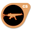 Bronze H&K MP5-Navy