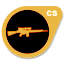 Gold H&K G3/SG1 Sniper Rifle