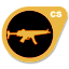 Gold H&K MP5-Navy